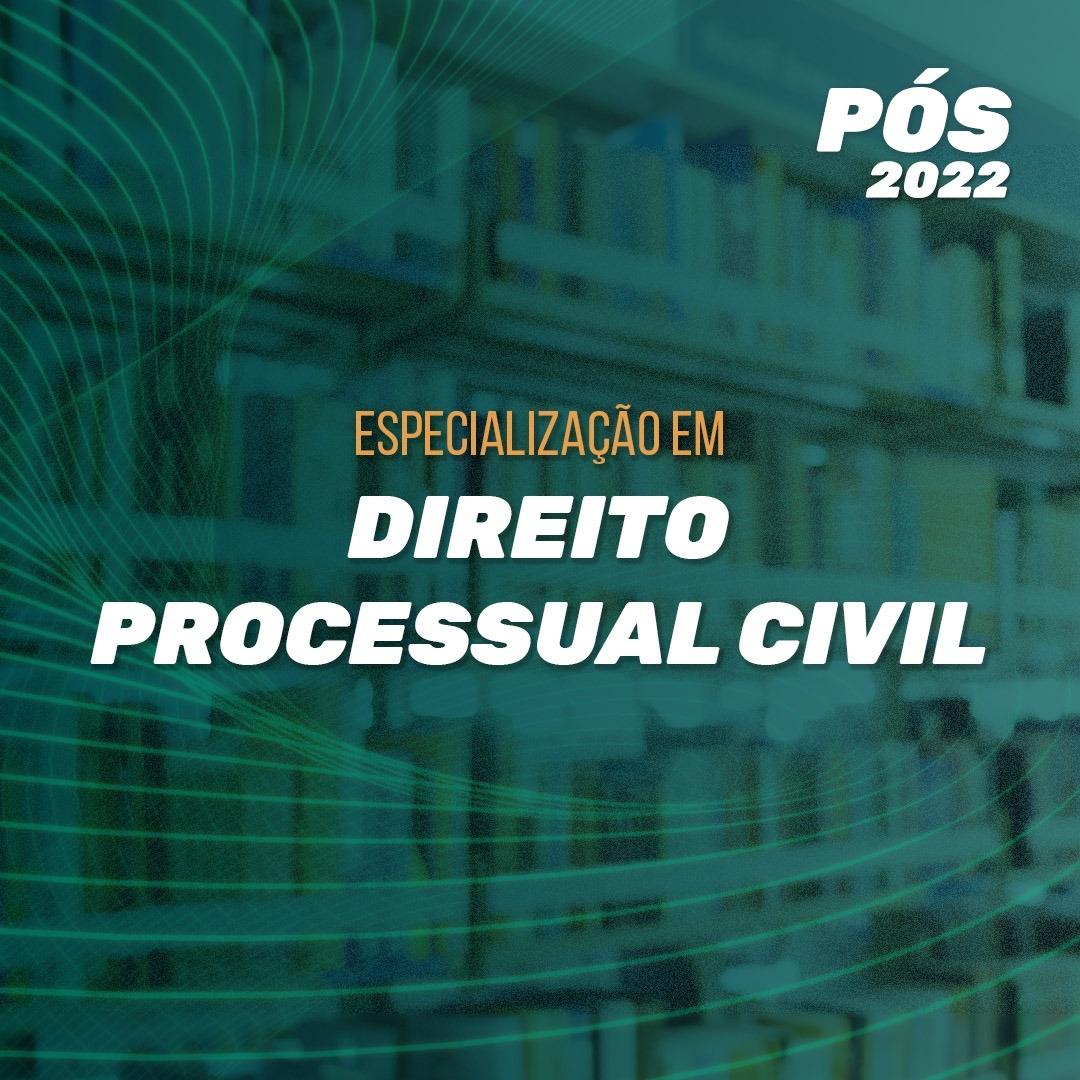 DIREITO PROCESSUAL CIVIL 2022.1