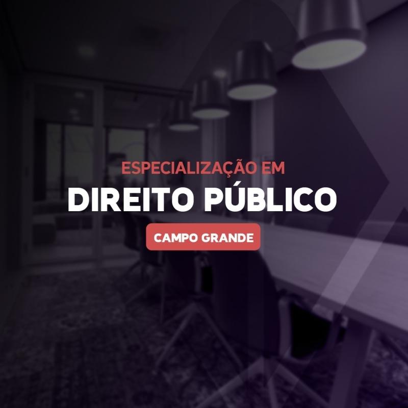 DIREITO PÚBLICO 21.1 - CAMPO GRANDE