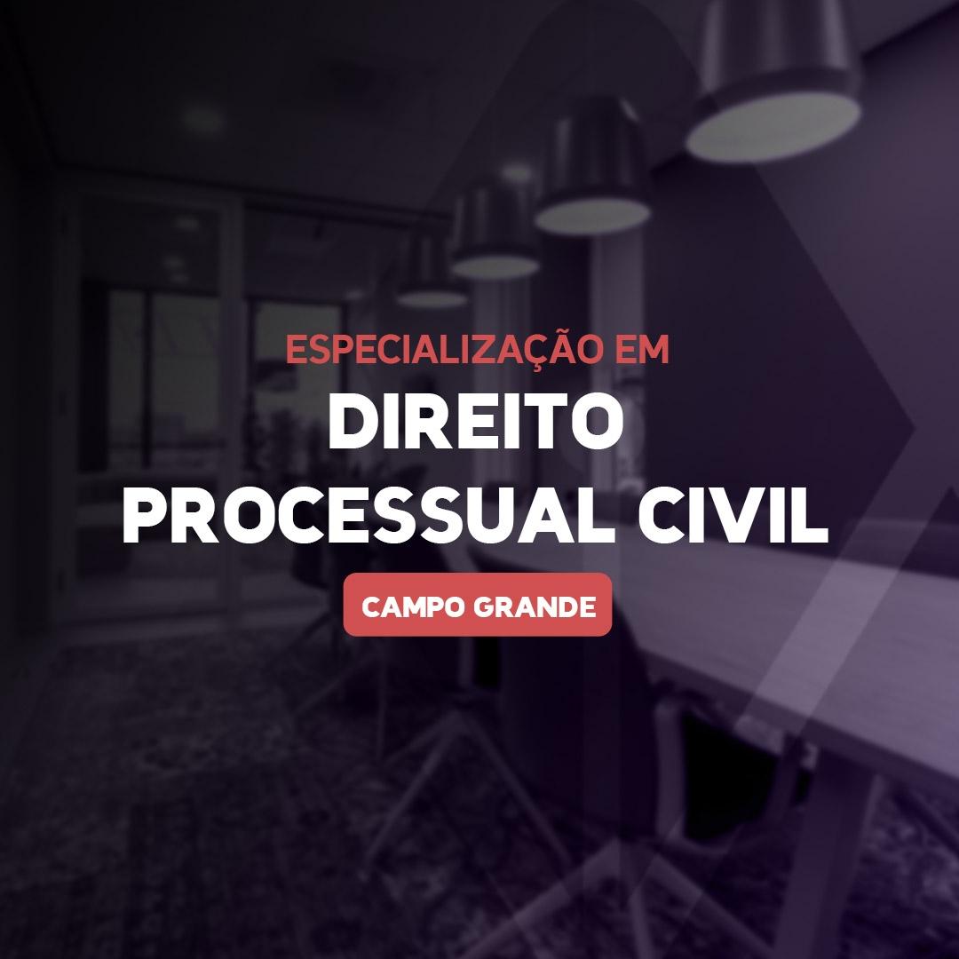 DIREITO PROCESSUAL CIVIL 21.1 - CAMPO GRANDE