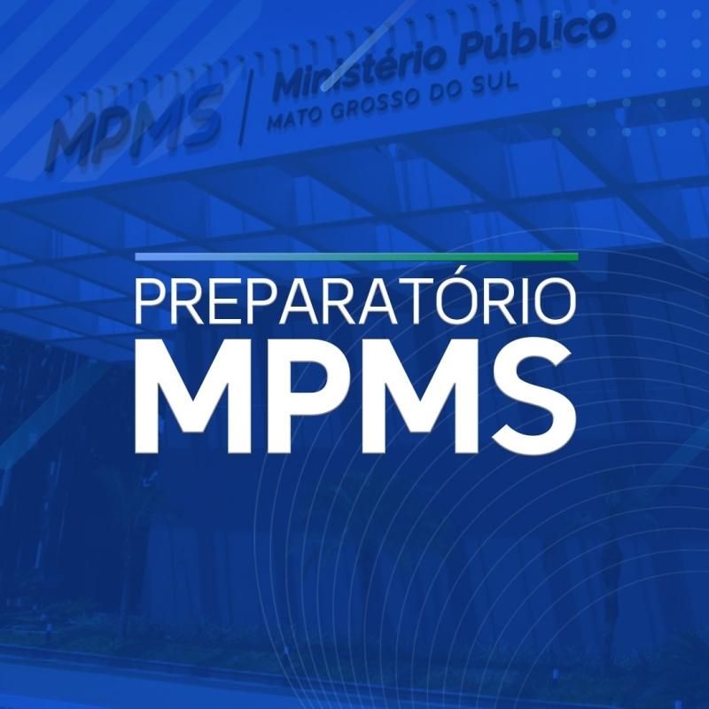 CURSO PREPARATÓRIO MPMS