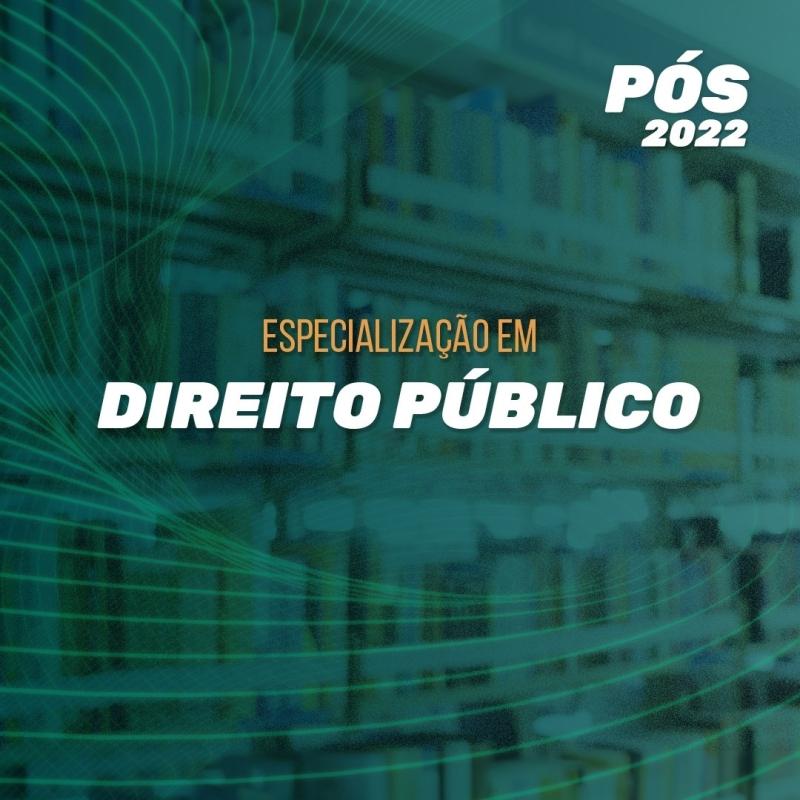 DIREITO PÚBLICO 2022.1